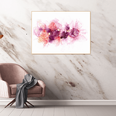 Fluidity – abstract alcohol ink painting