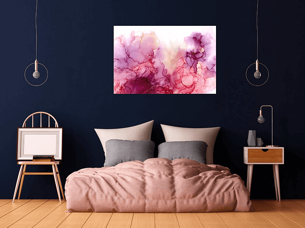 Read more about the article Whispers of ink – creating a collection of original alcohol ink paintings and prints